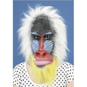 アニマルマスク マンドリル 変装・仮装・変装グッズ・かぶりもの・被り物・かぶり物・マスク・着ぐるみ・お笑い|arune