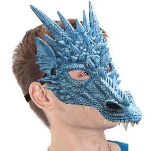 ワイルドマスク ドラゴン かぶりもの 被り物 なりきりマスク 宴会 仮装 パーティーグッズ 仮装|arune