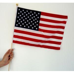 世界の国旗ポール付き アメリカ・米国・USA[サッカー 日本 サポーター 応援グッズ]|arune