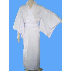 カラー着物 白 仮装衣装・落語・大喜利・着物|arune