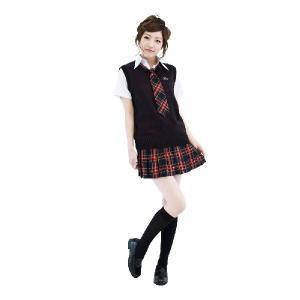 ベストオブスクール紺・黒チェックセット|arune