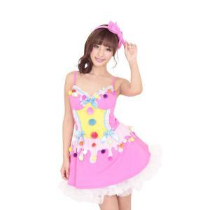 ラブジェラートドレス ハロウィン 女性用 Mサイズ ハロウィン 仮装 衣装 コスチューム コスプレ レディース|arune