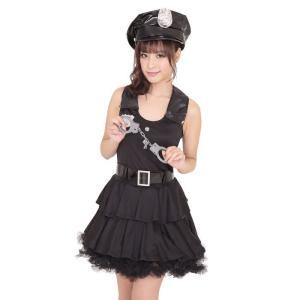 ガールズコップ ハロウィン 女性用 Mサイズ ハロウィン 仮装 衣装 コスチューム コスプレ レディース|arune