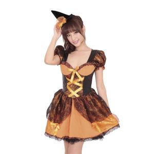 ドリーミングパンプキン ハロウィン 女性用 Mサイズ ハロウィン 仮装 衣装 コスチューム コスプレ レディース|arune