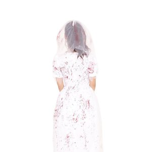 ウェディングゾンビ ハロウィン 女性用 Mサイズ ハロウィン 仮装 衣装 コスチューム コスプレ レディース|arune