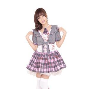 スクールゾンビ ハロウィン 女性用 Mサイズ ハロウィン 仮装 衣装 コスチューム コスプレ レディース|arune