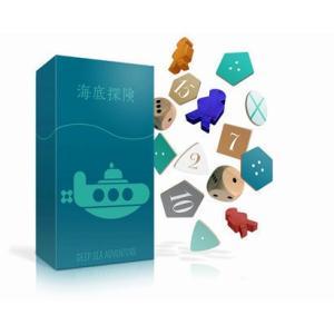 海底探検 カードゲーム ボードゲーム パーティ 盛り上げ お祝い お誕生日プレゼント ギフト 贈り物 知育玩具 キッズ 子供|arune