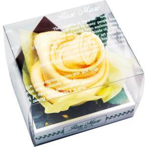 ロゼミュール タオルチーフのバラの花 1輪 イエロー|arune
