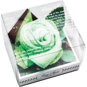 ロゼミュール タオルチーフのバラの花 1輪 グリーン|arune