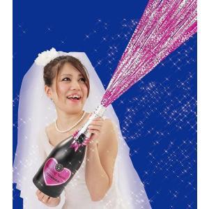 ピンクスパークリングシャワー 弾2発付き パーティークラッカー|arune