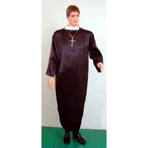 牧師 大人男性用 仮装、衣装、コスチューム|arune