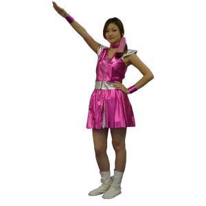 ガールズレンジャー ピンク ももいろクローバーZ ももクロ コスプレ 仮装 衣装 コスチューム|arune