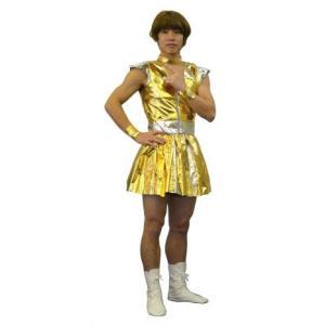 男子レンジャー ゴールド ももいろクローバーZ ももクロ コスプレ 仮装 衣装 コスチューム|arune