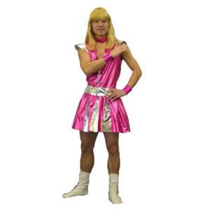 男子レンジャー ピンク ももいろクローバーZ ももクロ コスプレ 仮装 衣装 コスチューム|arune