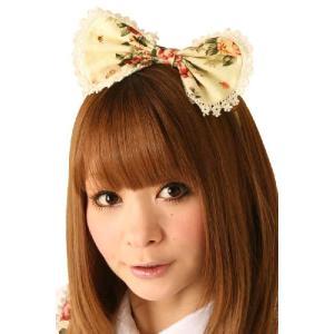 SALE Cream doll ホワイトブルームカチューシャ モデル:千景ちゃん|arune