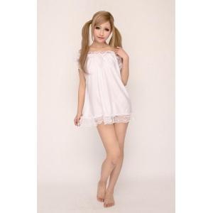 ギフトBaby Doll & Shorts NEWバニラクリーム(ホワイト) ベビードール バレンタイン ホワイトデー プレゼント|arune