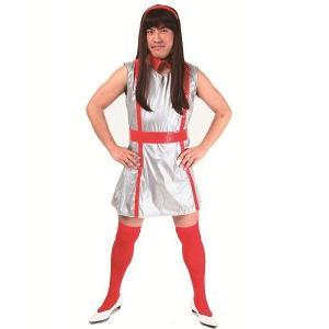 アイドルレンジャーV 赤色 Men's ももいろクローバーZ ももクロ コスプレ 仮装 衣装 コスチューム 女装男子|arune