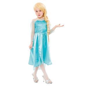 SALE エレガントドレス キッズ 120cmサイズ クイーン・女王・プリンセス・ハロウィン仮装衣装・コスチューム|arune