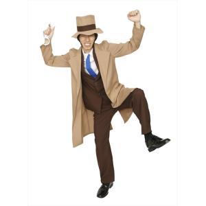 パーティーグッズ 仮装衣装 コスチューム ルパン三世コスプレ ライバル警部 銭形警部 大泥棒シリーズ|arune