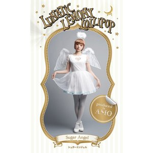 LLL-16 Sugar Angel シュガーエンジェル ハロウィン 仮装 衣装 コスチューム コスプレ レディース ゴスロリ|arune