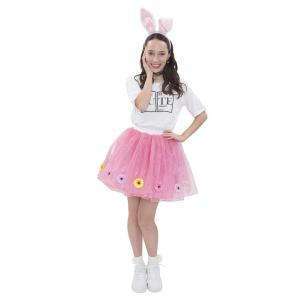 イースター フラワーボリュームスカート ピンク 仮装 コスチューム コスプレ イースターエッグ arune