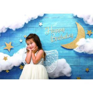 イエスタ Happy Birthday ナイトスカイ インスタ映え 写真館 パーティーグッズ 記念写真 背景 誕生日 スタジオ|arune
