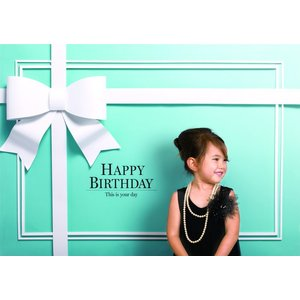 イエスタ Happy Birthday ロイヤルブル- インスタ映え 写真館 パーティーグッズ 記念写真 背景 誕生日 スタジオ|arune