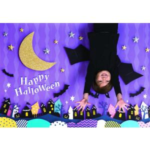 イエスタ Halloween 逆さコウモリ インスタ映え 写真館 パーティーグッズ 記念写真 背景 誕生日 スタジオ|arune