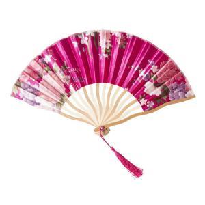 花鳥風月 扇子 桃 コスプレ 和柄 和風 プチプラ レディース コスチューム 仮装 変身 arune