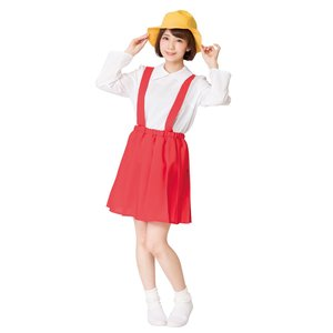 小学生ちゃん ちびまる子ちゃん さくらももこ なりきりキャラ コスプレ コスチューム 仮装 変装 衣装 パーティー|arune