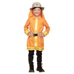 キッズジョブ 消防士 120 子供用 コスプレ 仮装 衣装 コスチューム ボーイズ 男の子用