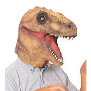 ラバーマスク 恐竜 仮装 マスクなりきり アニマル 動物|arune