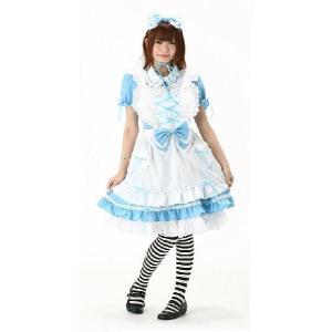 コスプレ衣装 Alice's デコレーションドレス コスプレコスチューム 不思議の国のアリス 仮装衣装|arune