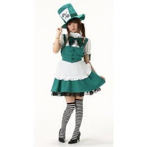 コスプレ衣装 シルクハットメイド コスプレコスチューム 不思議の国のアリス 仮装衣装|arune