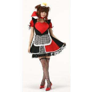 コスプレ衣装 クイーンメイド コスプレコスチューム 不思議の国のアリス 仮装衣装|arune