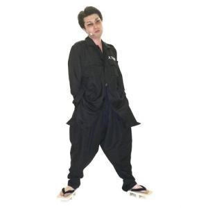 特攻服ジャケット 喧嘩上等 黒 Men's ヤンキー・コスチューム・仮装・衣装|arune