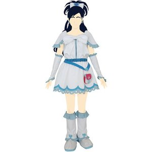 キュアホワイト コスチュームセット レディースL ふたりはプリキュア 衣装 コスプレ アニメ パーティーグッズ 仮装 arune