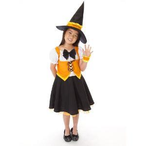 ウィッチマーガレットキッズ 120 140 キッズ 女の子 ハロウィン コスチューム コスプレ 仮装 衣装 arune