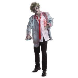 在庫限り 大人 ゾンビマン 男性 メンズ 衣装 コスプレ ハロウィン コスチューム 仮装|arune