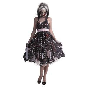 在庫限り 大人 ゾンビハウスワイフ レディース 女性 衣装 ハロウィン コスプレ コスチューム 仮装 arune