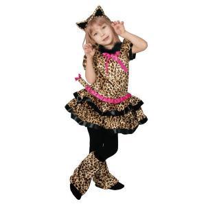 在庫限り キューティーレオパード 子供 コスプレ コスチューム 仮装 衣装 ハロウィン arune