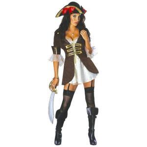 HWB バッカニア パーレーツ 海賊 大人 女性 レディース ハロウィン コスチューム コスプレ 衣装 仮装|arune