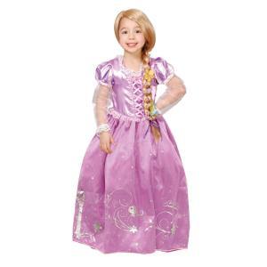 子供 ドレスアップラプンツェル 女の子 ディズニー プリンセス 塔の上のラプンツェル ハロウィン 仮装 衣装 コスプレ コスチューム|arune