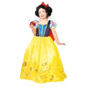 子供 ドレスアップ白雪姫 女の子 ディズニー ディズニー プリンセス スノーホワイト コスプレ コスチューム 仮装 ハロウィン 衣装|arune