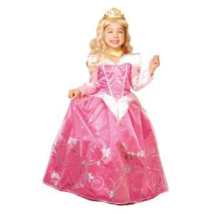子供 ドレスアップオーロラ 女の子 ディズニー プリンセス 眠れる森の美女 オーロラ姫 ハロウィン コスチューム 仮装 衣装 コスプレ|arune