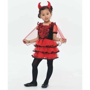 KORENARA デビル キッズ 女の子 親子でお揃い コスチューム コスプレ ハロウィン 衣装 仮装|arune