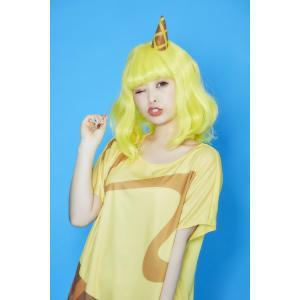 POP ICE ハニーバナナ ウィッグ+コスチューム レディーズ 女性用 ハロウィン ハロウィン 仮装 衣装 コスチューム コスプレ|arune