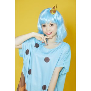 POP ICE チョコミント ウィッグ+コスチューム レディーズ 女性用 ハロウィン ハロウィン 仮装 衣装 コスチューム コスプレ|arune