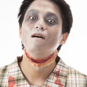 HORROR 傷シリーズ 裂け傷 大 ホラー ハロウィン コスチューム コスプレ 衣装 仮装|arune