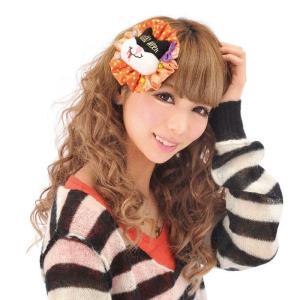 MADキャットクリップ ヘアアクセサリー ヘッドピース 髪飾り ハロウィン コスチューム コスプレ 衣装 仮装 arune